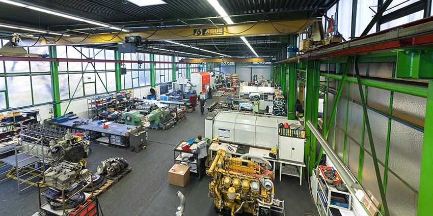 Die K.W. Dressendörfer GmbH und Co. KG, Instandsetzung und Wartung von Industriemotoren und Fertigung von Kurbelwellenn