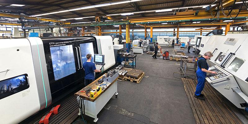 Unser Maschinenpark besteht aus modernsten Maschinen